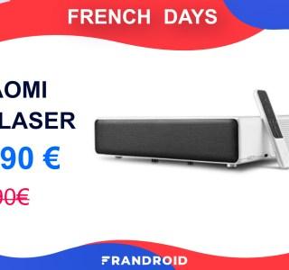 Le vidéoprojecteur Xiaomi Mi Laser bénéficie d'une importante réduction de 300 euros