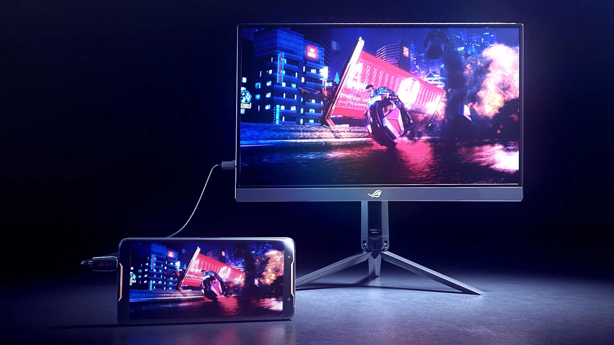Asus XG17AHP : un écran portable qui monte à 240 Hz avec 3 heures d'autonomie