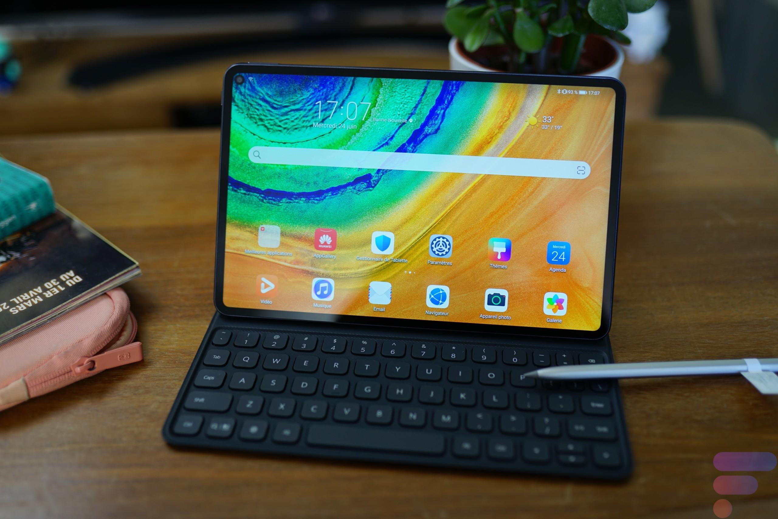 Test de la Huawei MatePad Pro : un matériel irréprochable, un logiciel amputé