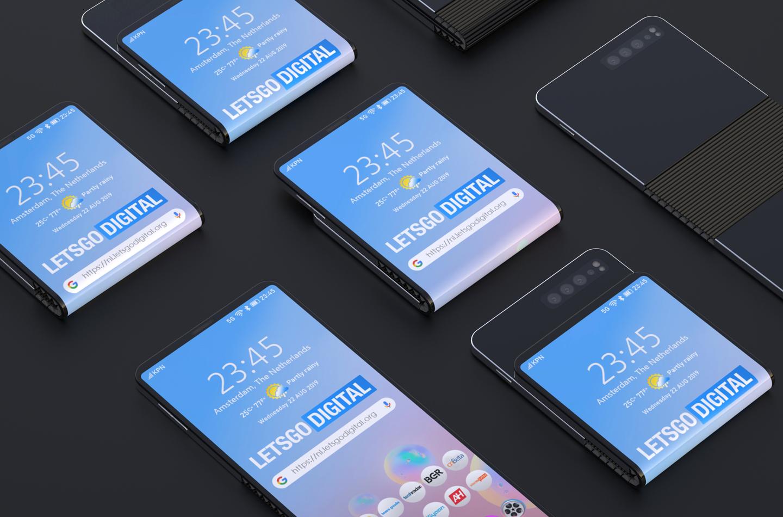 Samsung songe à un smartphone pliable à deux clapets