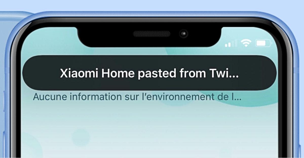 iOS14: pourquoi les apps copient aussi souvent votre presse-papier?