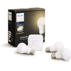 Ce kit de démarrage 3 ampoules Philips Hue White est presque à moitié prix