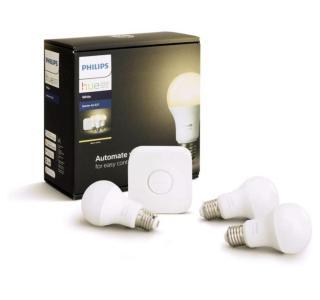 Ce kit de démarrage 3 ampoules Philips Hue (White) est à moitié prix