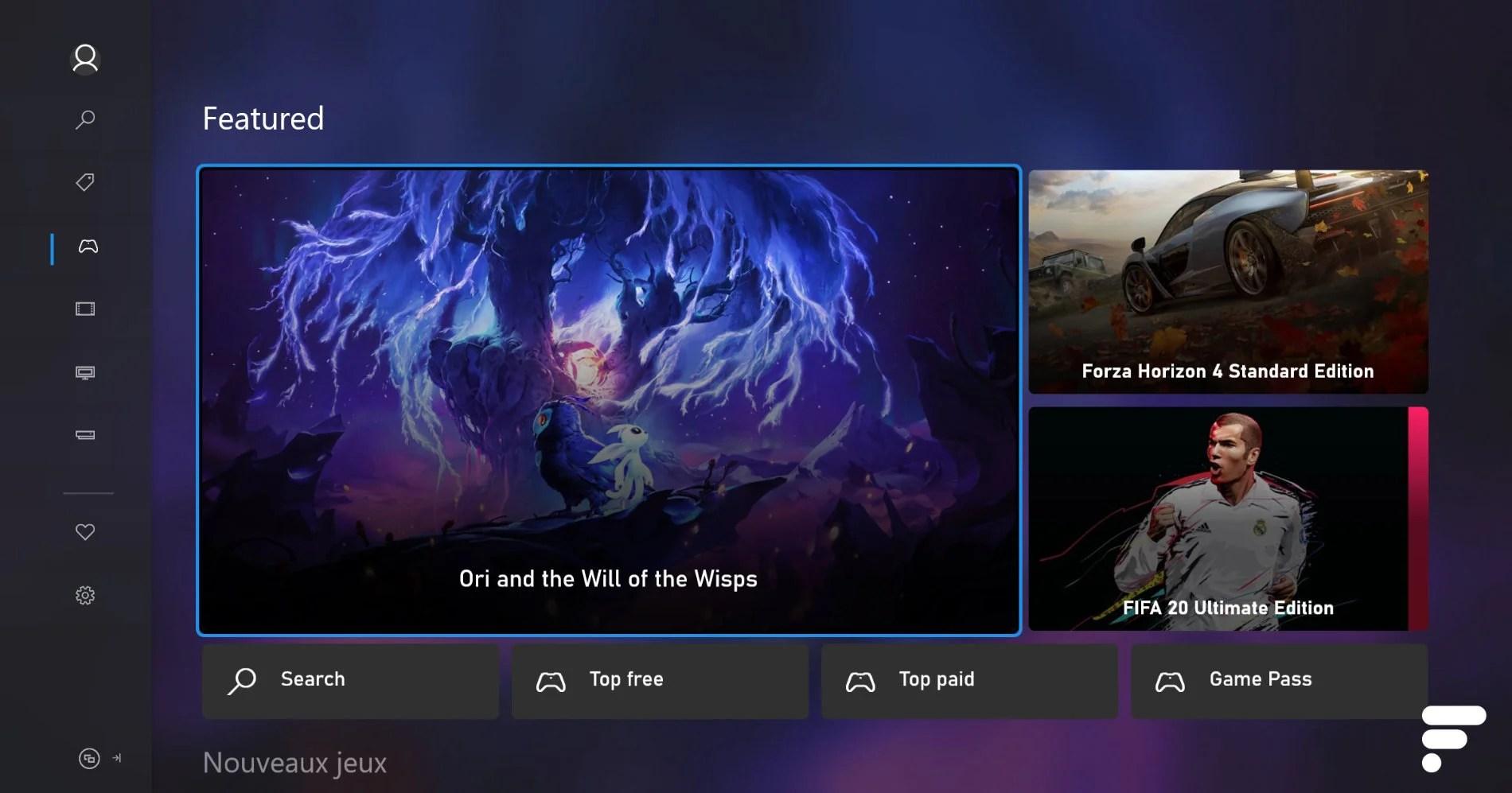 Xbox One : le tout nouveau Microsoft Store est disponible pour tous en France