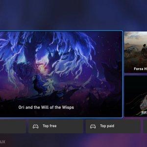 Microsoft Store sur Xbox : nos images et vidéos de la refonte moderne et fluide