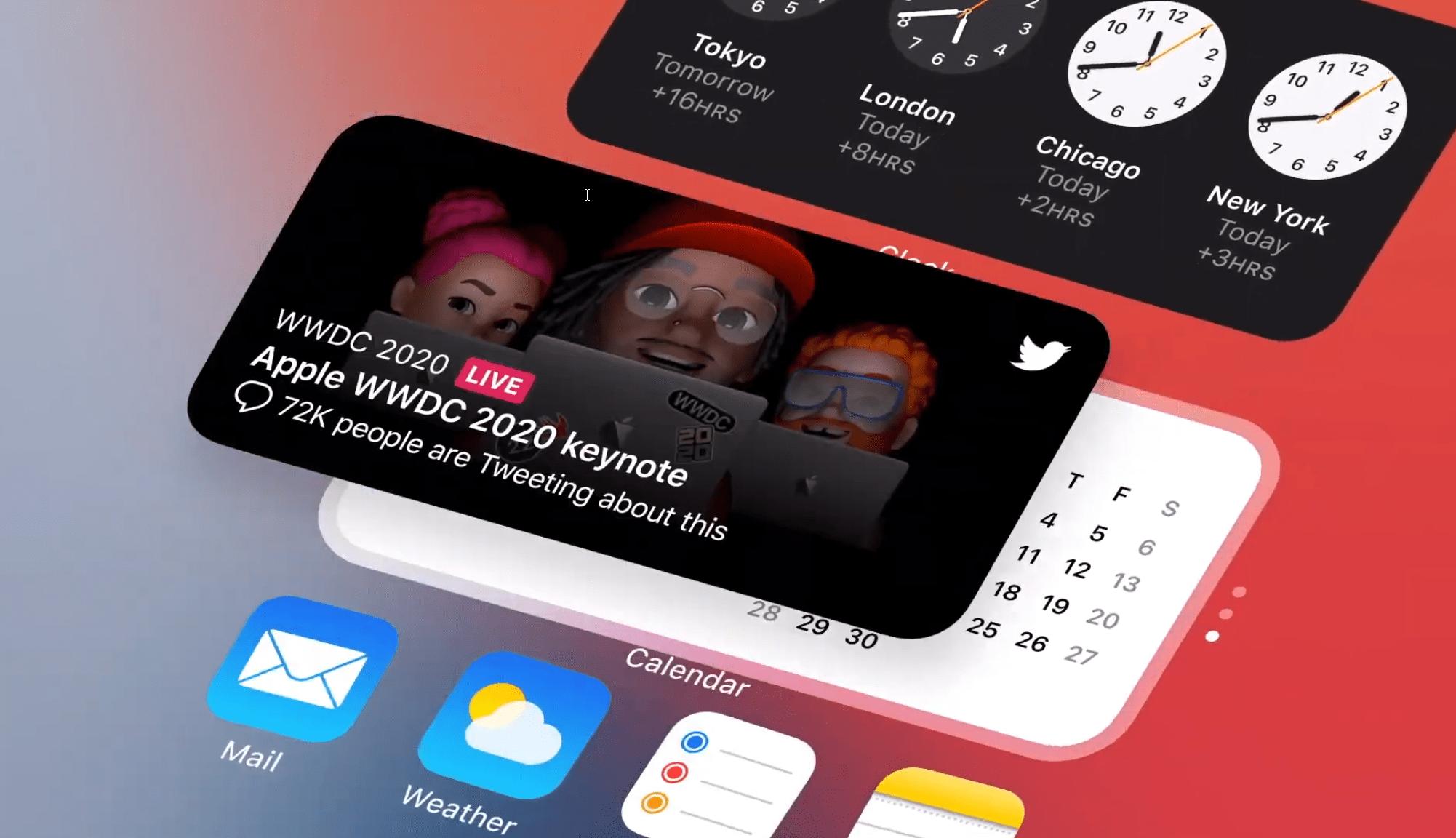 L'iPhone adopte les widgets d'Android : voici comment ils fonctionnent
