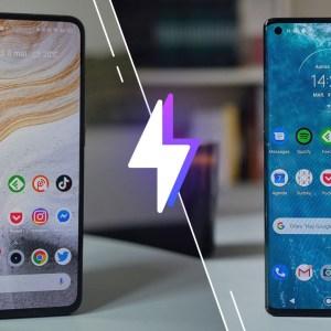 Realme X50 Pro vs Motorola Edge : lequel est le meilleur smartphone ?