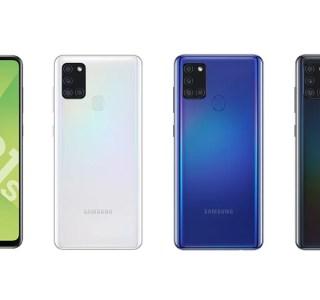 Samsung Galaxy A21s officialisé en France: à moins de 250euros, il mise sur l'autonomie