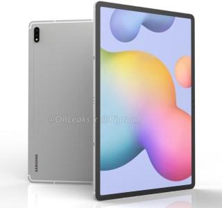 Samsung Galaxy Tab S7 Plus : la tablette très grand format se dévoile en rendus 3D