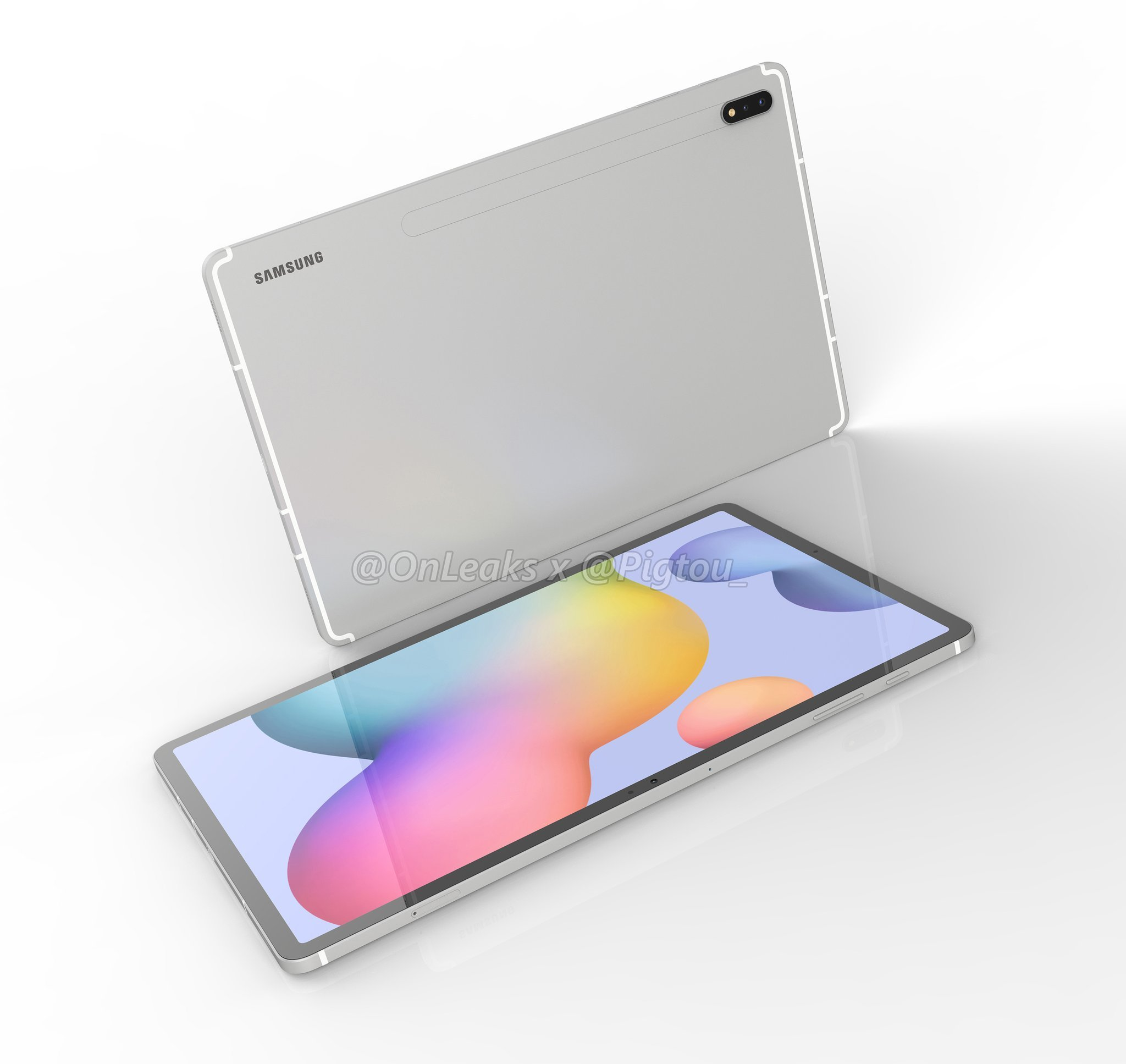 Samsung Galaxy Tab S7 / S7+ : enfin des concurrentes à l'iPad Pro