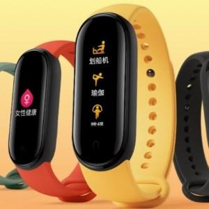 Mi Band 5 officialisé : le bracelet connecté de Xiaomi s'équipe d'un plus grand écran