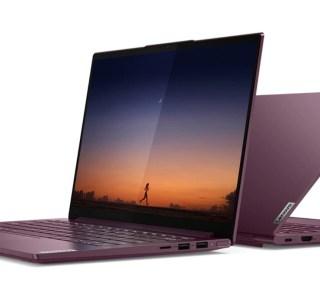 En misant sur les processeurs AMD, Lenovo contient le prix de son ultrabook Yoga Slim 7