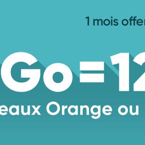 Forfait mobile : de 50 à 200 Go à partir de 12,99 € sur les réseaux Orange ou SFR