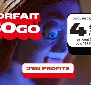 Forfait mobile : 50 Go de 4G pour 5 € via cette offre sans engagement