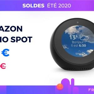 Amazon Echo Spot : ce réveil connecté avec Alexa est 40 € moins cher