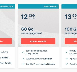 Forfait mobile : 100 Go pour 13,99 €/mois via une offre B&You chez Bouygues