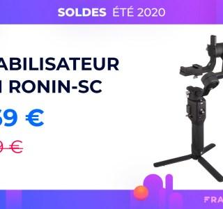 Professionnalisez vos vidéos avec le stabilisateur DJI Ronin-SC à moins de 270 €