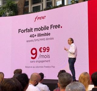 Freebox Pop : le forfait mobile illimité Free passe à 9,99 euros par mois en quadruple play