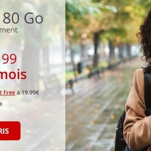 Free baisse de 1 euro le prix de son forfait mobile 80 Go en série limitée