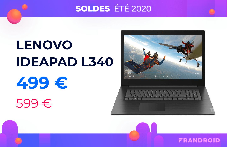 Moins de 500 € pour ce Lenovo Ideapad 17″ équipé d'un Ryzen 5