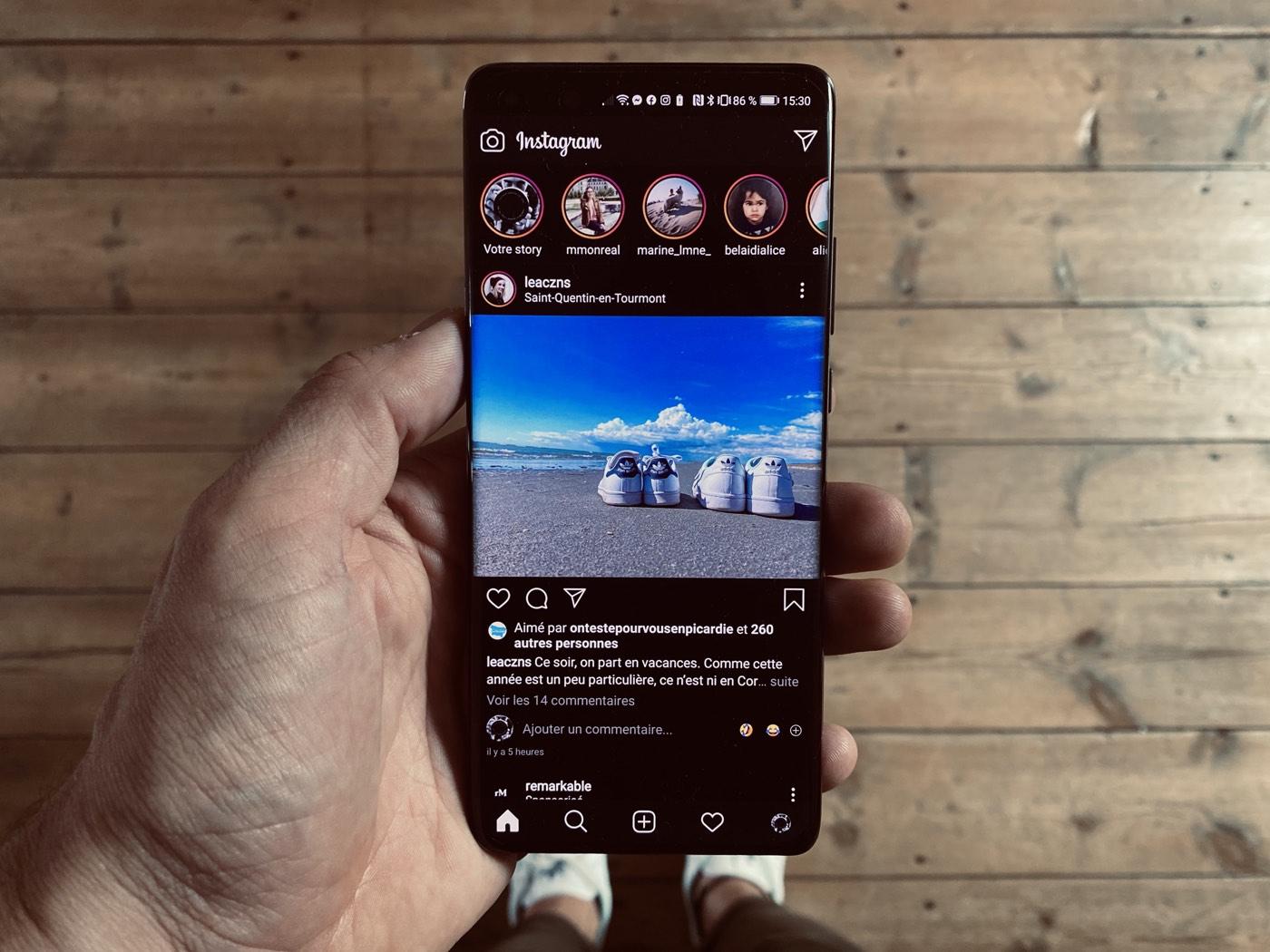 Instagram : vous pouvez maintenant épingler vos commentaires préférés
