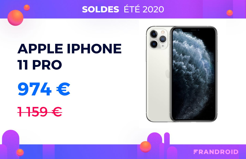 L'Apple iPhone 11 Pro passe enfin sous les 1 000 € grâce à ce code promo