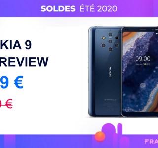 Le Nokia 9 PureView avec ses 5 capteurs photo chute à 229 € seulement