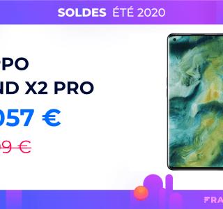 L'excellent Oppo Find X2 Pro perd près de 150 euros pendant les soldes