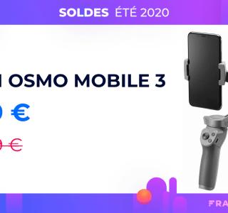 L'excellent DJI Osmo Mobile 3 passe à 79 euros à l'occasion des soldes