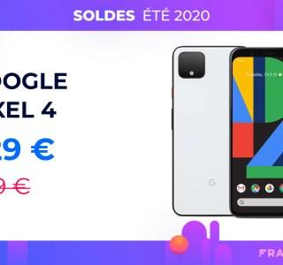 Pour les soldes, le Google Pixel 4 passe à 530 € et la version XL à 700 €