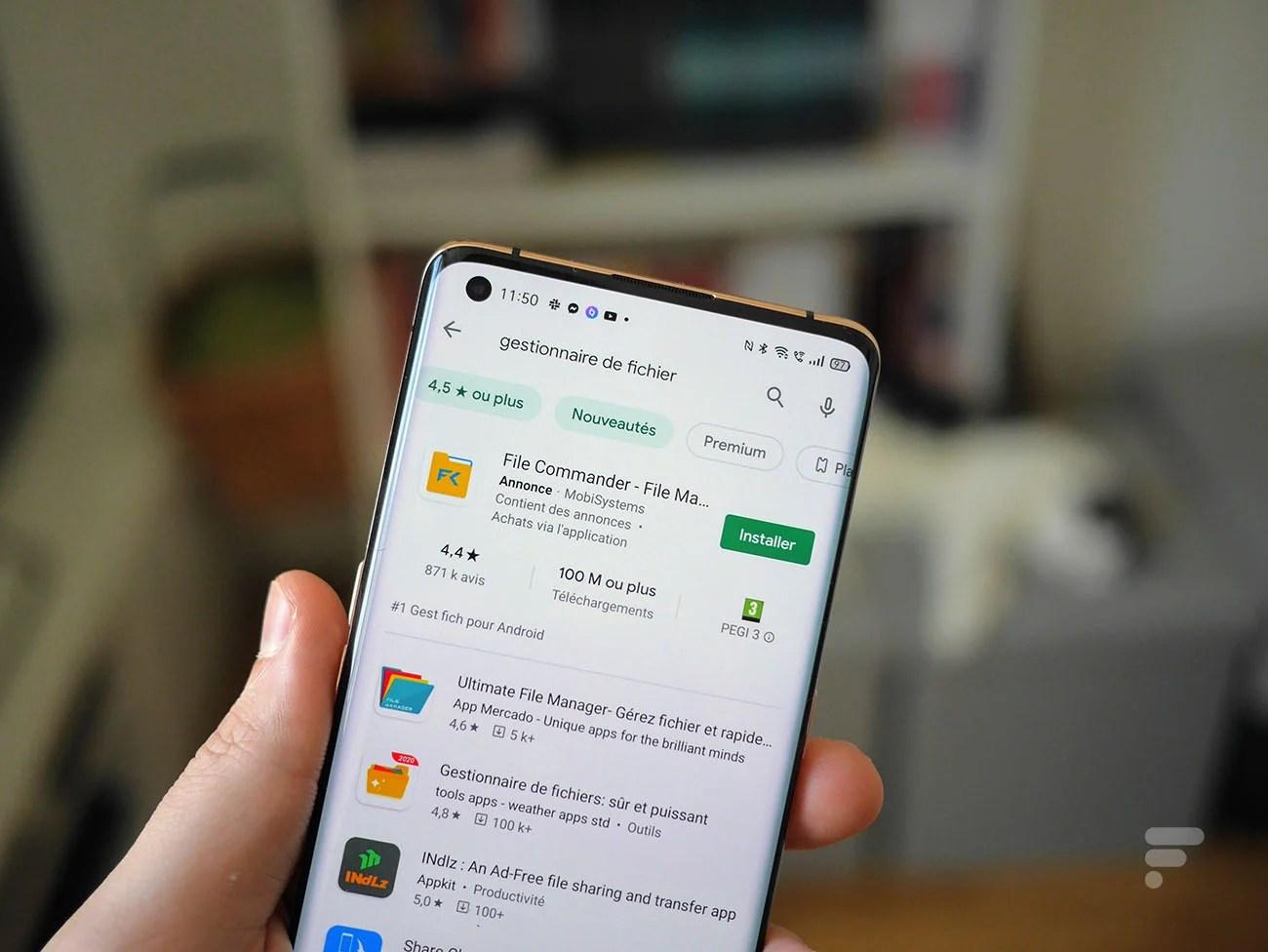Play Store : Google propose un tableau pour comparer d'un coup d'œil plusieurs applications