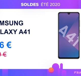Le Samsung Galaxy A41 est presque 50 euros moins cher pour les soldes