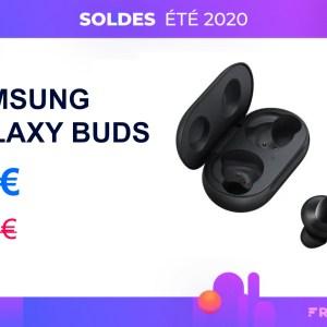 Galaxy Buds : les écouteurs sans fil de Samsung sont à moitié prix