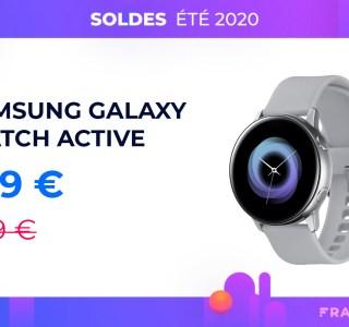 La Samsung Galaxy Watch Active à moins de 150 euros pour les soldes