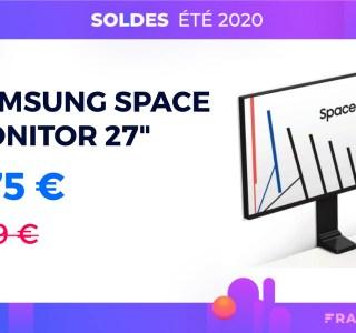 Aujourd'hui seulement, l'écran Samsung Space Monitor 27″ est moins cher