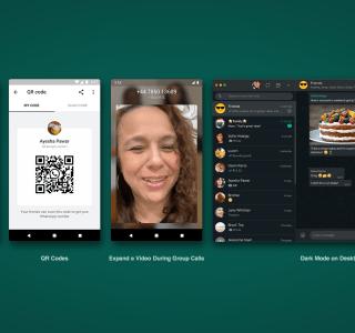 Stickers animés, mode sombre sur Web, QR Code : WhatsApp présente ses dernières nouveautés