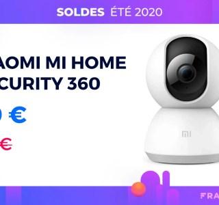 La Xiaomi Mi Home Security 360° est la caméra la plus abordable des soldes