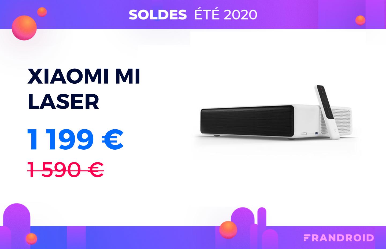 Xiaomi Mi Laser : cet incroyable vidéoprojecteur est moins encore cher que lors des French Days