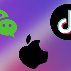En frappant WeChat et TikTok, les États-Unis vont faire mal à Apple