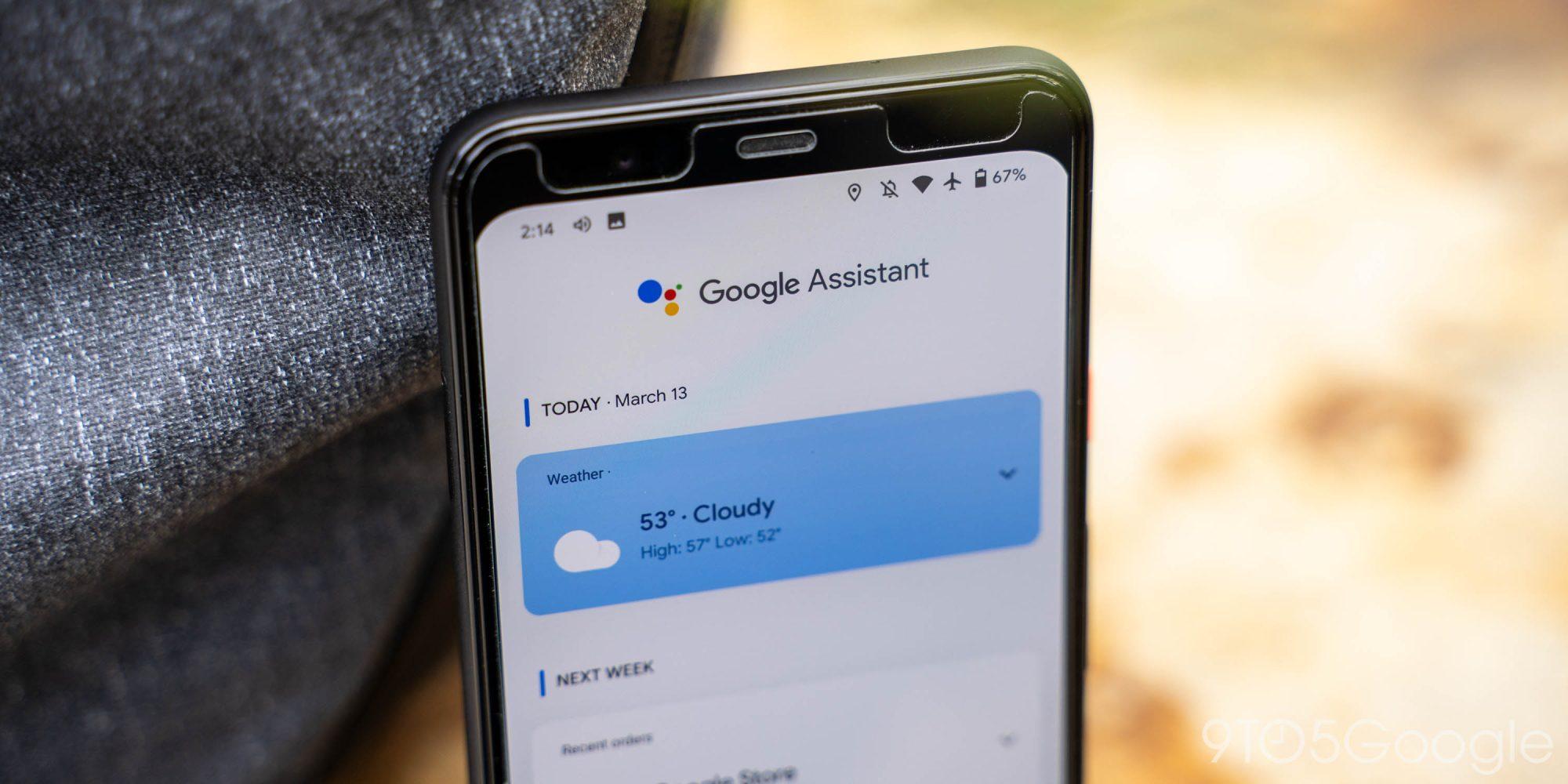 Sport, musique, actu : le flux de Google Assistant hérite de nouveaux raccourcis