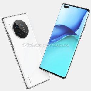 Huawei Mate 40 Pro : le design du prochain fleuron chinois se dévoile