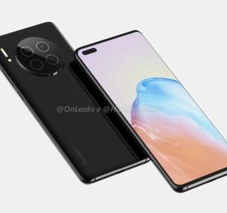 Huawei Mate40 : voici son design avec 6capteurs photo et écran incurvé