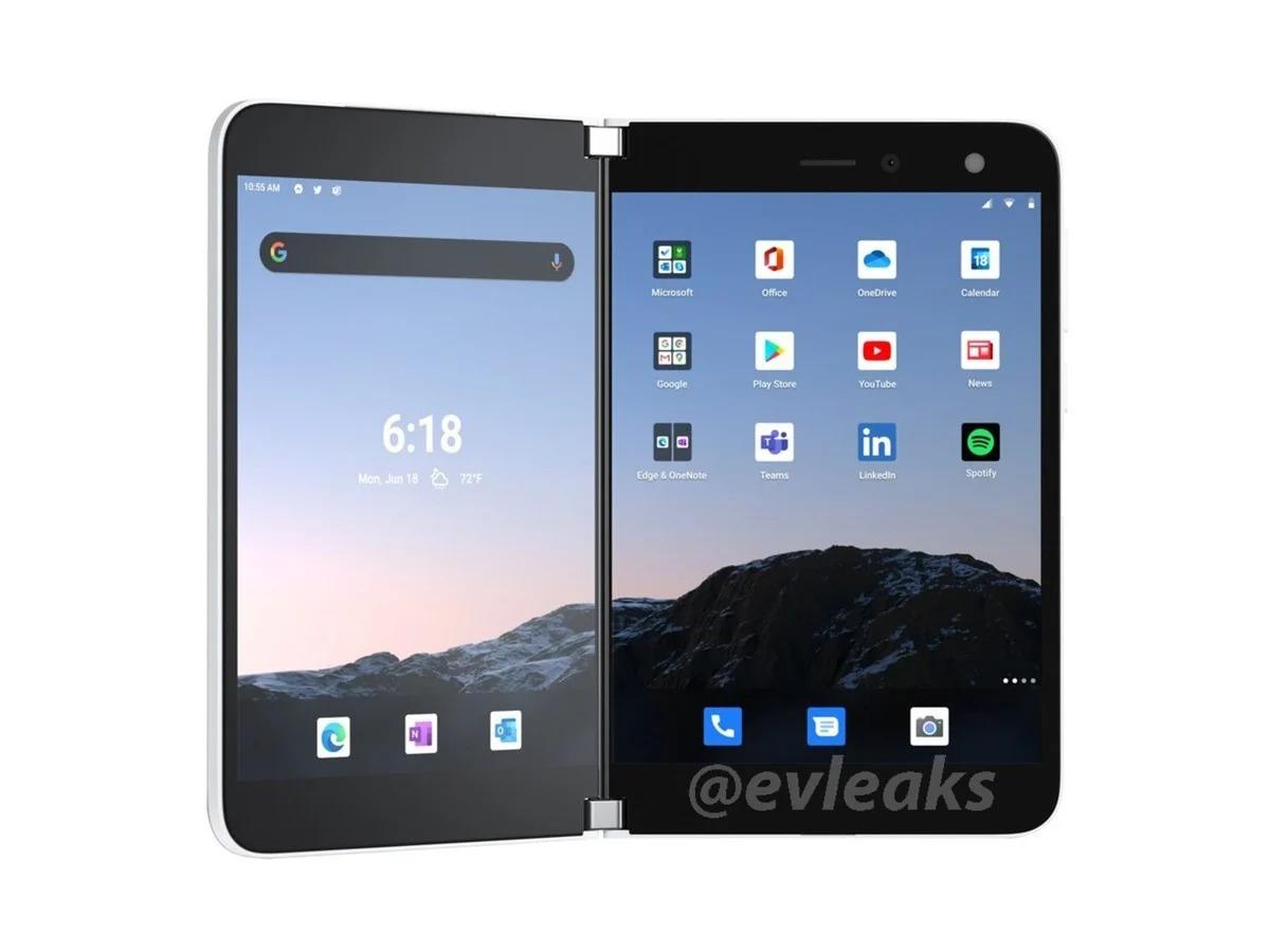 Microsoft Surface Duo : les rendus presse en disent un peu plus sur le smartphone