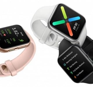 Oppo Watch : un clone de l'Apple Watch avec une version custom de Wear OS