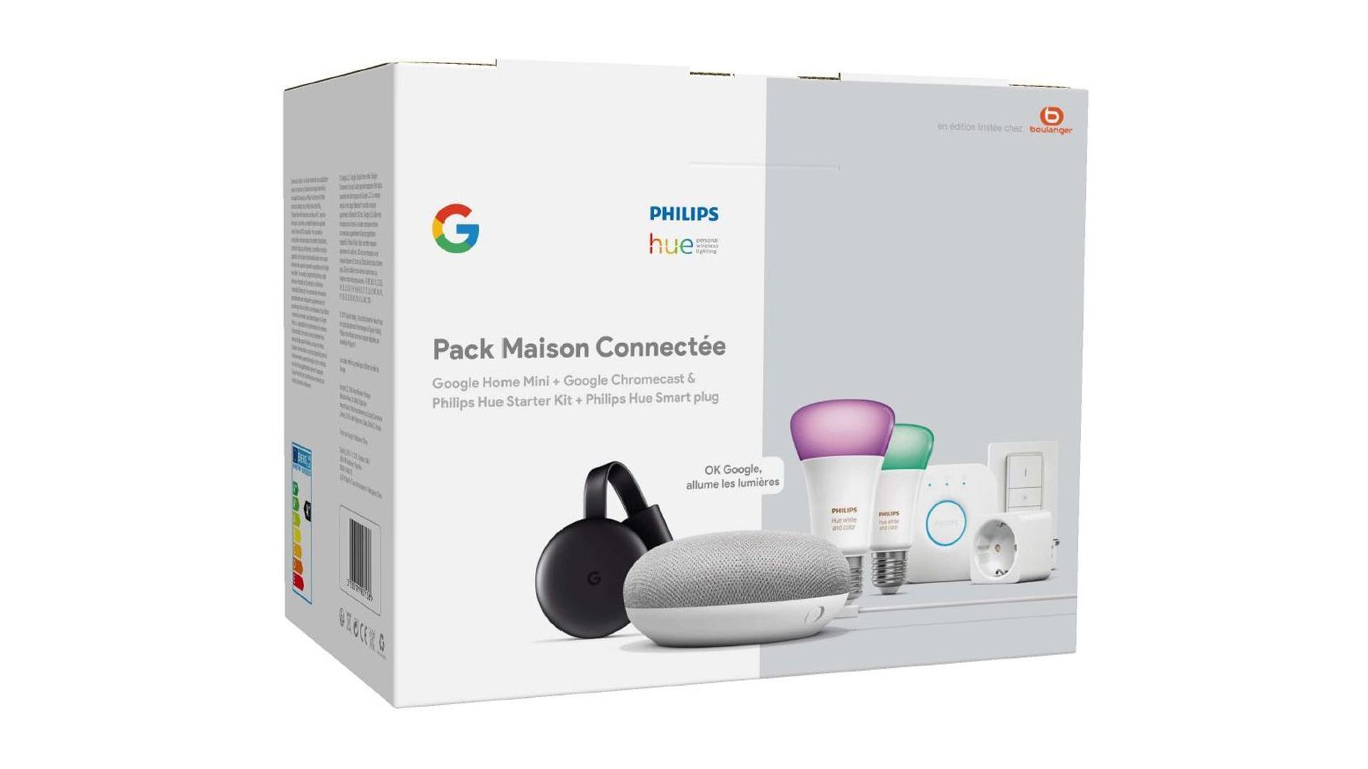 Connectez votre maison avec le pack Philips Hue / Google Home à 219 euros