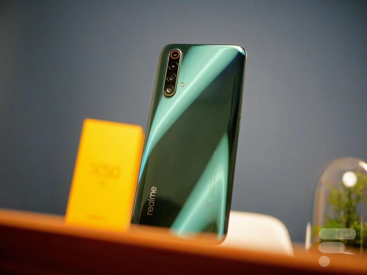 Test du RealmeX505G : un smartphone qui ne perd pas le Nord