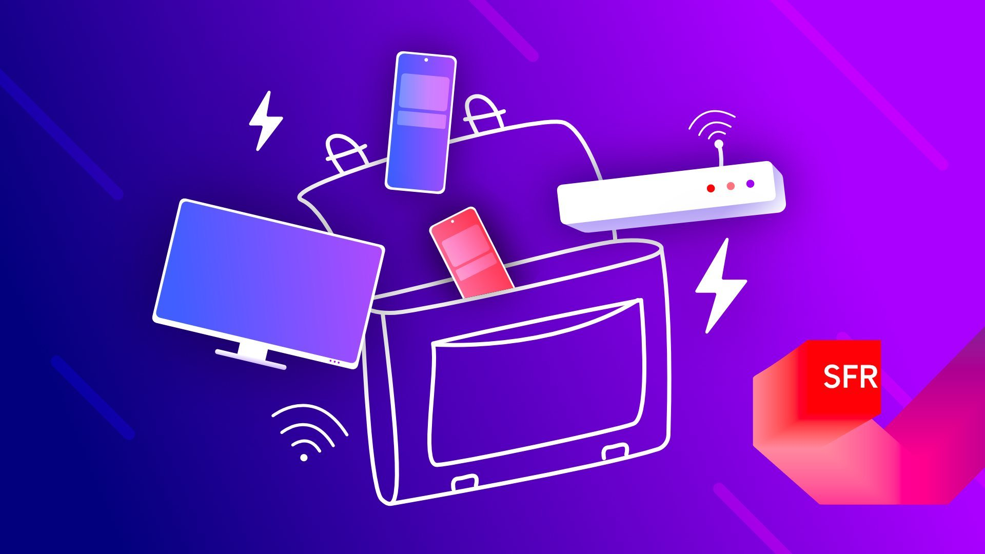 Forfait mobile, Internet, smartphones : c'est la rentrée des promotions chez SFR