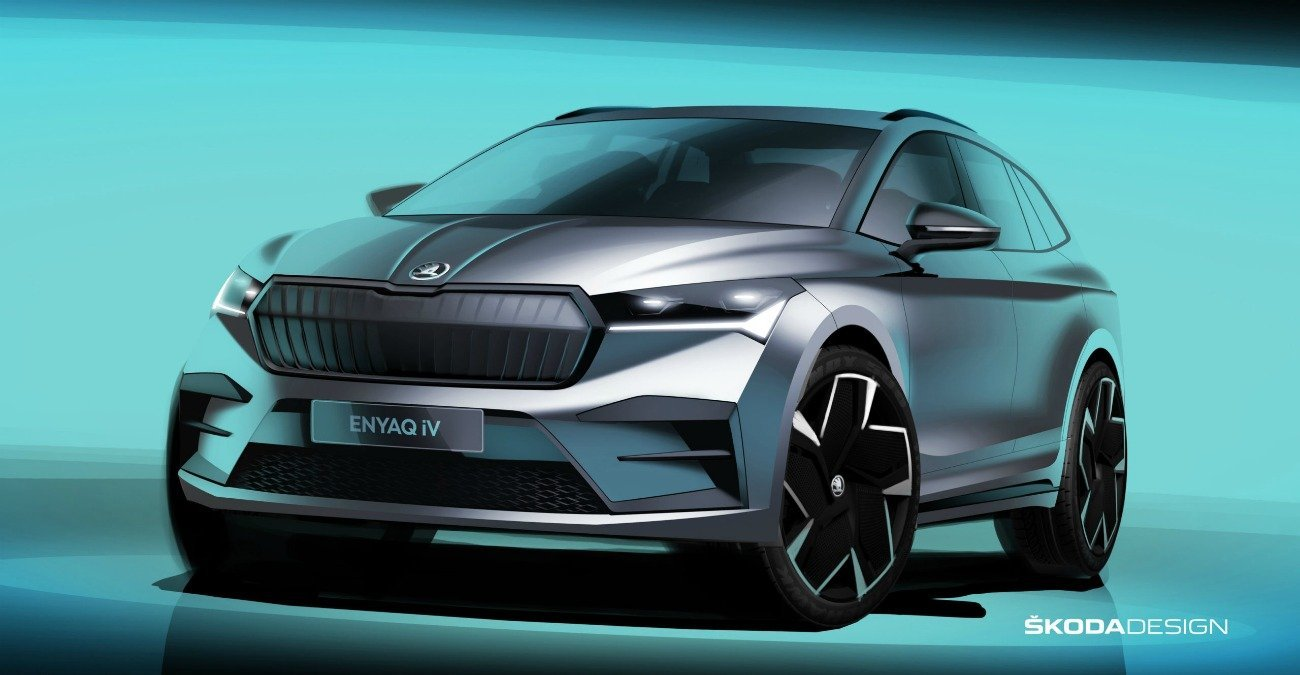 Skoda ENYAQ iV : à quoi va ressembler le SUV électrique ? Ces dessins nous donnent une idée