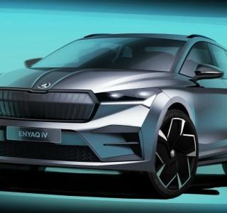 Skoda ENYAQ iV: à quoi va ressembler le SUV électrique? Ces dessins nous donnent une idée