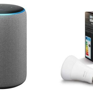 L'Amazon Echo Plus 2 est à moitié prix avec une ampoule Philips Hue offerte